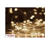Kit Fio Cobre Prata Cordão Luz Fada 3m 30 Leds Fairy Light