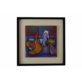 Arte Mexicano Conrado Dominguez Oleo Sobre Fibra De Vidrio