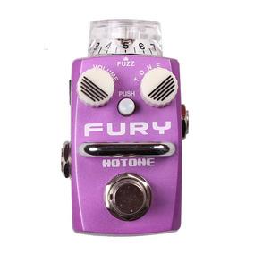 Pedal De Efeitos Hotone Fuzz Analogico Fury Sfz1