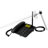 Telefone Kit Celular Intelbras Fixo, Longo Alcance - Cfa4012