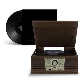 Radio Vintage Cd Toca Discos Vinil Fm Usb Bluetooth Retro