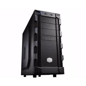 Gabinete Gamer Coolermaster K280 - Preto 3 Baias Micro-atx