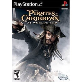 Piratas Do Caribe No Fim Do M Ps2 Patch Com Capa E Impressão