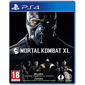 Juego Ps4 Mortal Kombat Xl ( Físico)