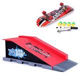 Mini Skateboard And Ramp Accessories Set B#