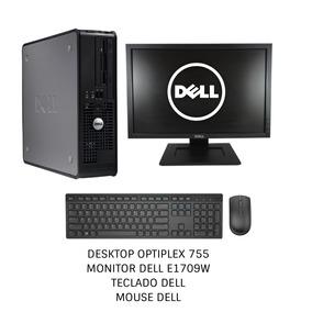 Pc Completo Dell Optiplex 755 / Mouse+teclado+monitor