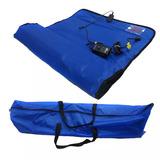 Manta Termica Estetica Profissional Corporal Azul Estek 220v