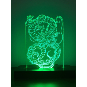 Shenlong Lámpara Led Dragon Ball Z
