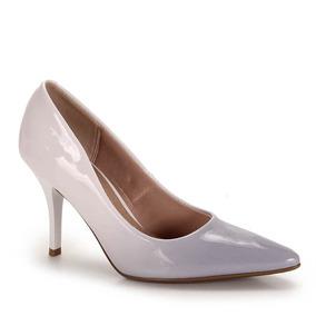 Sapato Scarpin Conforto Feminino Beira Rio - Azul