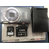 Camara Canon Powershot Elph160