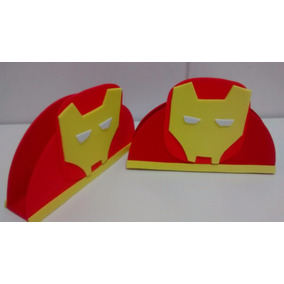 Porta-guardanapo De Eva Homem De Ferro (kit Com 15)