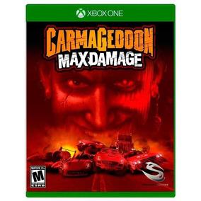 Jogo Carmageddon: Max Damage Xbox One Novo Lacrado + Brinde