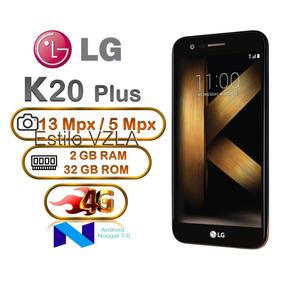Lg K20 Plus 32gb 2gb Ram Hd Huella Cam 13mp Android 7 Nougat