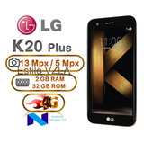 Lg K20 Plus 32gb 2gb Ram Hd Huella Cam 13mp Android 7 Nougat