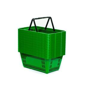 Cesta Compras Mercado Supermercado Direto Fábrica - Kit 10un