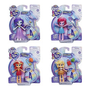 Pack 4 Figuras My Little Pony Equestria Girls Fashion Squad