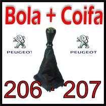 Bola De Câmbio Coifa Base Peugeot 206 207 Sw Modelo Original
