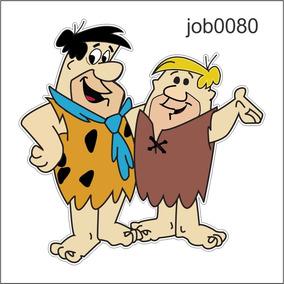 Adesivo Decorativo Flintstones Fred Barney Job0080