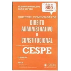 Apostila Direito Administrativo E Const. Cespe 2016 +brinde
