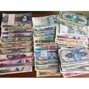 70 Cédulas (dinheiro) Variadas