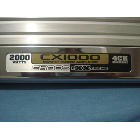 Boss Cx1000 2000w 4 Canales