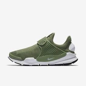 Tenis Casual Caballero Nike Sock Dart Color Verde Original
