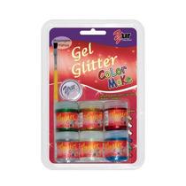 Gel Glitter Corporal + Sombra - Color Make