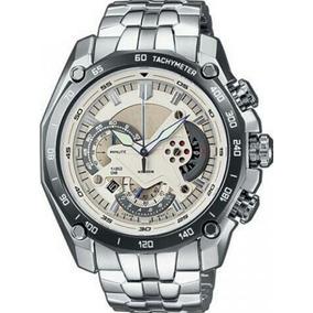 Relógio Casio Prata Aço Inoxidável Multifunção Original C Cx