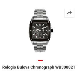 9d17606c8fc Bulova Quadrado Com Crono Fundo - Relógios no Mercado Livre Brasil