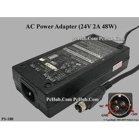 Fuente De Poder Epson Ps-180 Con Cable Imp.tm Tmu Pf220 Orig