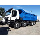 Camion Iveco Trakker 8x4 0 Km Con Caja Volcadora Baco