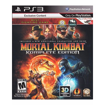 Mortal Kombat 9 Ps3 Cod Psn Envio Imediato