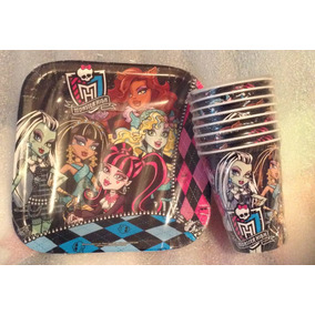 Paquete Fiesta Monster High 48