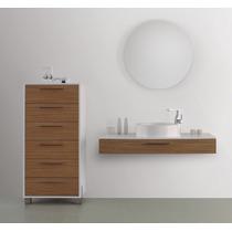 Mueble Baño Gabinete Lavabo Espejo Madera Gb 2098 29 Gravita