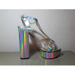 Tacones Charlotte Olympia Hologram Talla 5.5 Envio Gratis!!