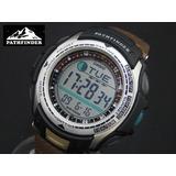 Reloj Original Casio® Pathfinder Pesca Fishing Timer Nuevo