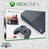 Xbox One S Negra 500gb + Battlefield 1 + Joystick