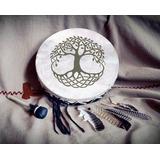 Tambor Ceremonial Chamánico - Árbol Vida - Envio Incluido!