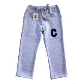 Pantalon Buzo Gris Niño