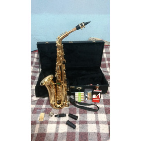 Saxofone Alto Weril Spectra 1(931) Semi-novo + 20 Palhetas