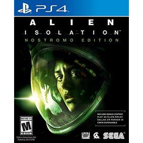 Alien Isolation Ps4 Nostromo - Original - Sellado - Fisico