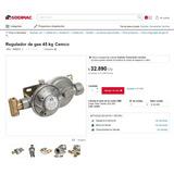 Regulador De Gas 45 Kg Cemco Certificado Sec Remate