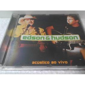 Cd Edson E Hudson Acustico Ao Vivo