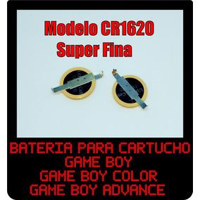 Bateria Cartucho Game Boy Color E Game Boy Advance Gbc Gba