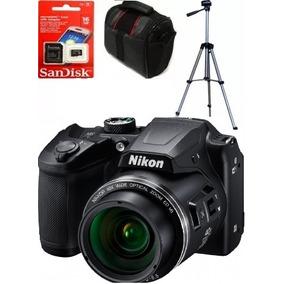 Camara Nikon B500 40x Wifi Tripode Bolso Sd 16gb + 12 Cuotas