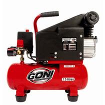 Compresor 1.5 Hp Tanque 7.5 Lts Herramienta Goni