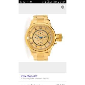 Relógio Invicta Modelo: 15931 Série Ouro Com