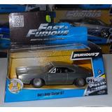 1:32 Dodge Charger 1968 Plata Rapido Y Furioso Jada C Caja *