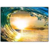 Quadro Decorativo Surf Surfista Onda Praia Mar Decorações 6
