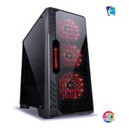 Gabinete Gamer Lumia Preto 3 Coolers Led Rgb (muda De Cor)